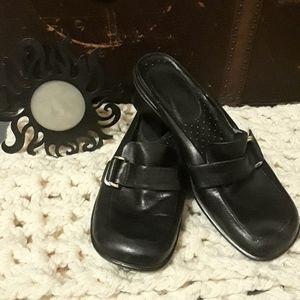 Nine West womens black slipon loafers